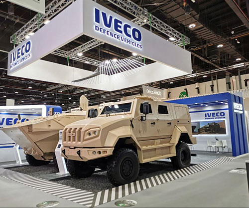 Iveco Defence Vehicles at IDEX 2021