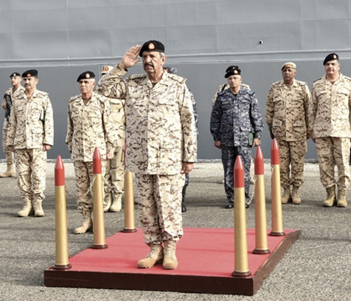 Joint Bahraini-Egyptian Drill Continues in Manama