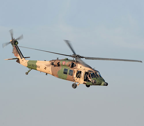 Jordan Requests Another U-60M Black Hawk Helicopter