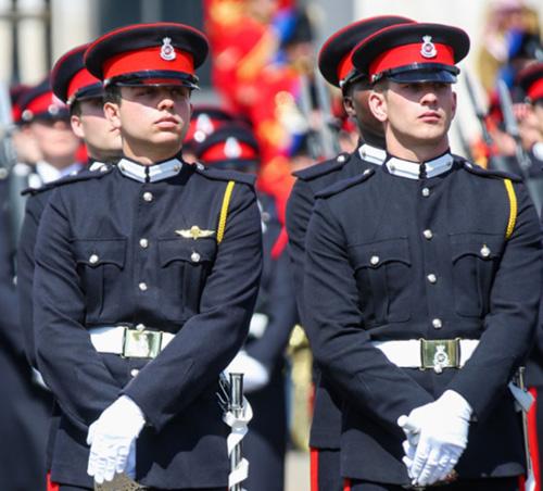 Jordan's Crown Prince Graduates from Sandhurst Academy