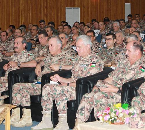 Jordanian Army Chief Calls for Highest Degree of Vigilance