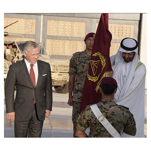 Jordanian Brigade Renamed After Abu Dhabi Crown Prince