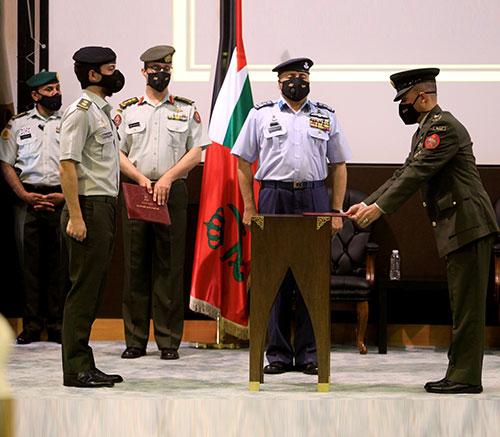 Jordanian Crown Prince Attends Military Graduation Ceremonies