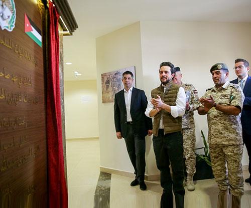 Jordanian Crown Prince Inaugurates Sheikh Mohamed bin Zayed Training City