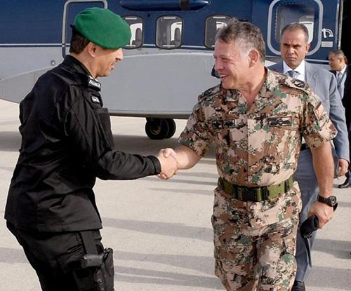 Jordanian King Attends Closing Ceremony of Gulf Shield 1