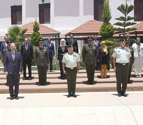 Jordanian King Attends National Defence College Graduation Ceremony