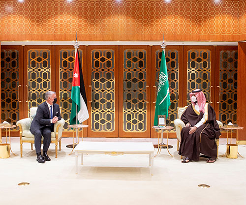 Jordanian King Concludes Visit to Saudi Arabia