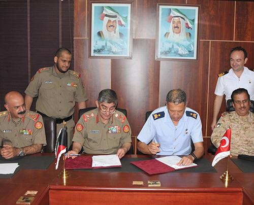 Kuwait, Turkey Sign Defense Cooperation Plan for 2019