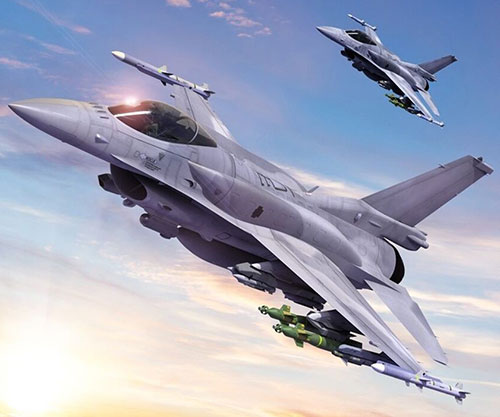 L3Harris to Provide Next-Gen Electronic Warfare System for F-16 Multirole Fighter