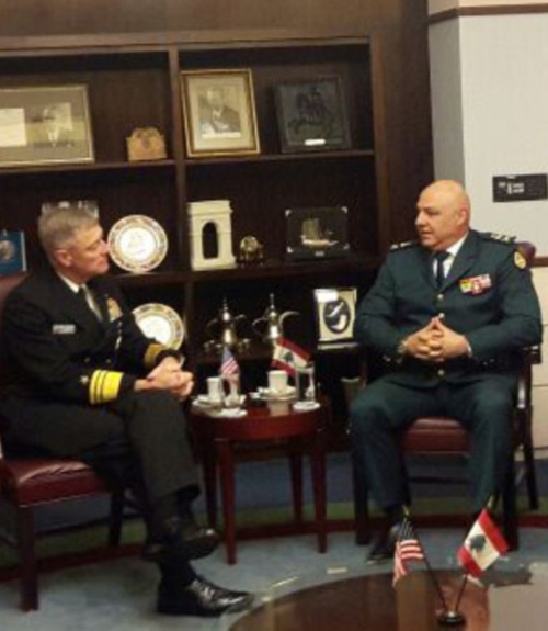Lebanese Armed Forces Commander Concludes Visit to USA