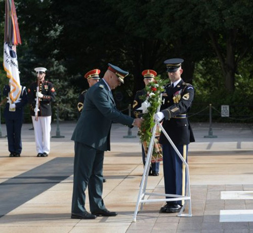 Lebanese Armed Forces Commander Makes 3rd Visit to USA