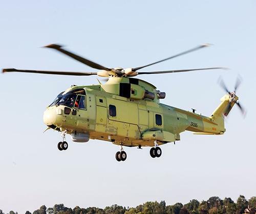 Leonardo's AW101 for Polish Navy Achieves First Flight Test
