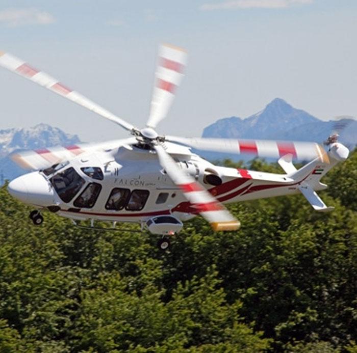 Leonardo-Finmeccanica Delivers First AW169 to Falcon Aviation