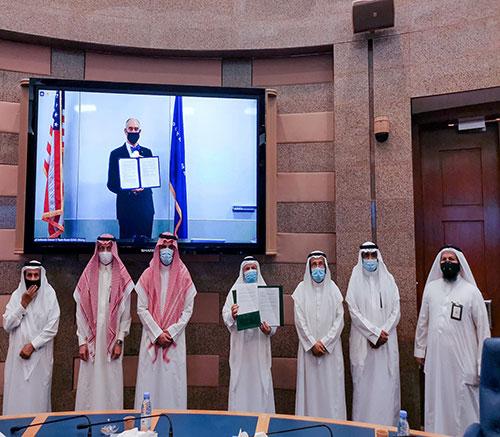 Lockheed Martin, King Abdulaziz University Sign Master Research Agreement