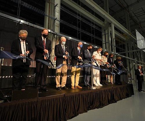 Lockheed Martin Opens Intelligent, Advanced Hypersonic Strike Production Facility
