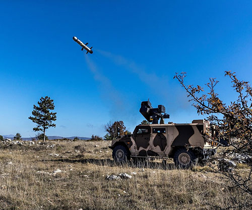 MBDA Completes First Firing of MMP from IMPACT Turret