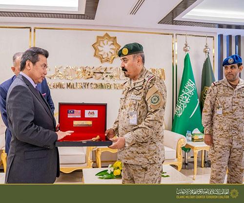 Malaysian Defense Minister Visits Islamic Military Counter Terrorism Coalition in Riyadh