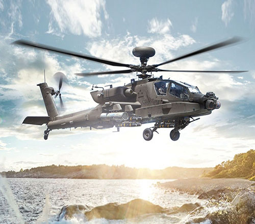 Morocco, UAE to Gain LONGBOW Fire Control Radar for AH-64E Apache Helicopters