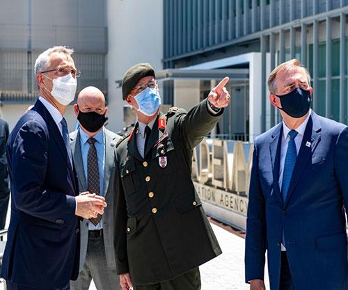 NATO Secretary General Inaugurates NCI Academy in Portugal