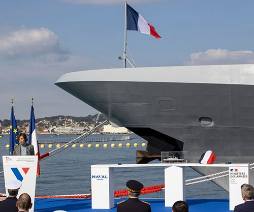 On 16th April 2021 in Toulon (France), in presence of the French Minister of the Armed forces Florence Parly, Naval Group delivered the FREMM DA Alsace, in accordance with its schedule commitments and expected performances.