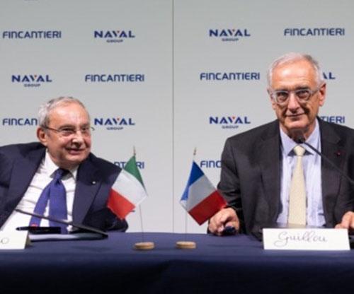 "Naval Group-Fincantieri's Joint Venture Named ""NAVIRIS"""
