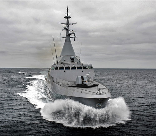 Naval Group Selects iXblue's Navigation Systems for Two Gowind Corvettes