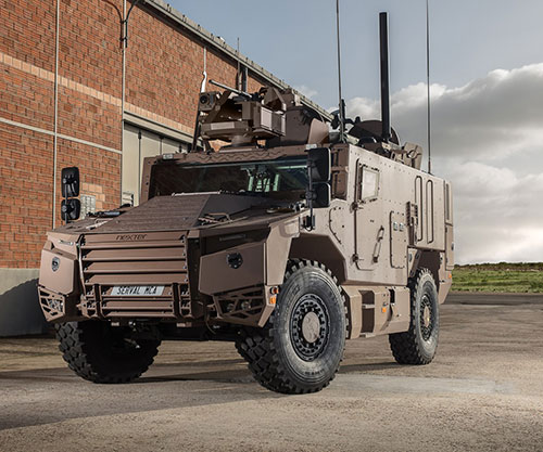 Nexter, Texelis Notified of SERVAL's First Series Production Tranches