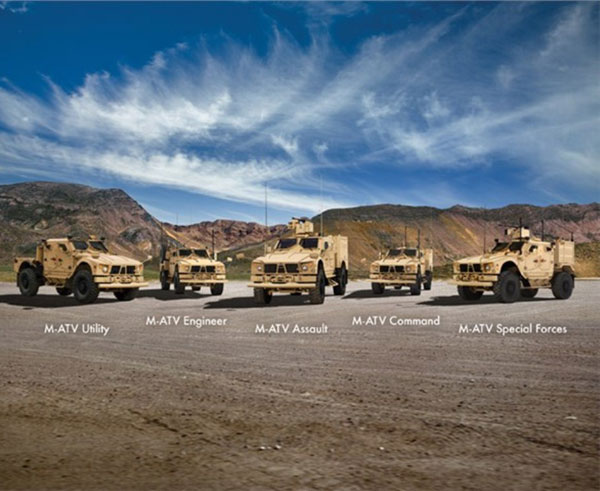 Oshkosh Offers 5 M-ATV Variants to Meet Armed Forces Mission Requirements
