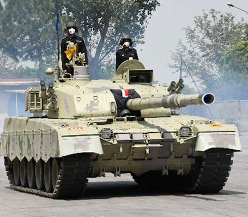Pakistan Army Receives First Batch of Al-Khalid-I MBTs