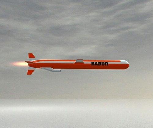Pakistan Army Test-Fires Babur Cruise Missile