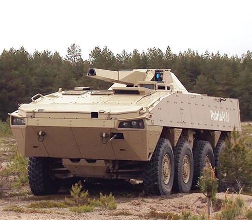 Patria, U.S. Army to Study Capabilities of Patria Nemo 120 mm Mortar System