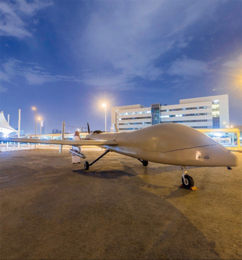 King Abdulaziz City for Science & Technology Unveils Saqr 1 UAV
