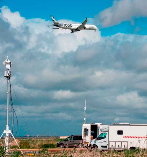 Airbus A350-1000 Completes Noise Test Campaign