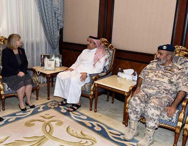 Qatar Defense Minister Meets UK Defense Procurement Minister