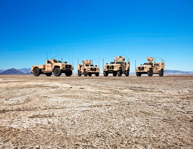 Oshkosh Defense Wins New JLTV Order from US Army