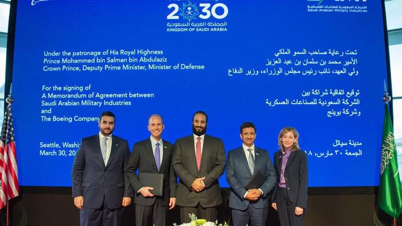 Saudi Arabian Military Industries, Boeing Form Joint Venture