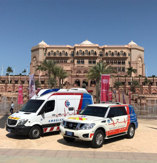 Abu Dhabi Police Offers 50 Ambulance Stations for Rapid Response