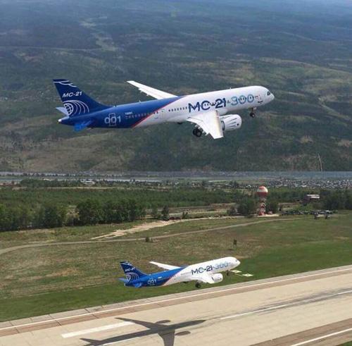 Russia's MC-21 Passenger Plane Completes Maiden Flight