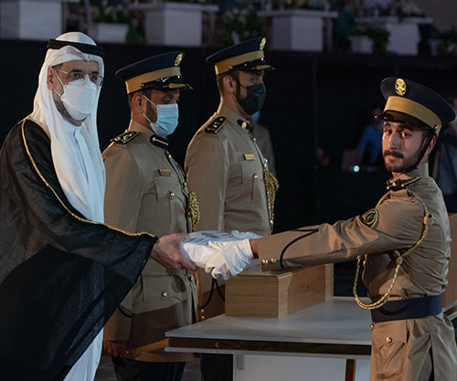 Police Sciences Academy in Sharjah Holds Graduation Ceremony