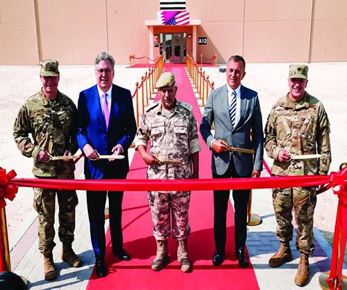 Qatar Inaugurates New Dormitories at Al Udeid Air Base