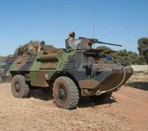 Qatar Sends 24 Armored Personnel Carriers to Mali