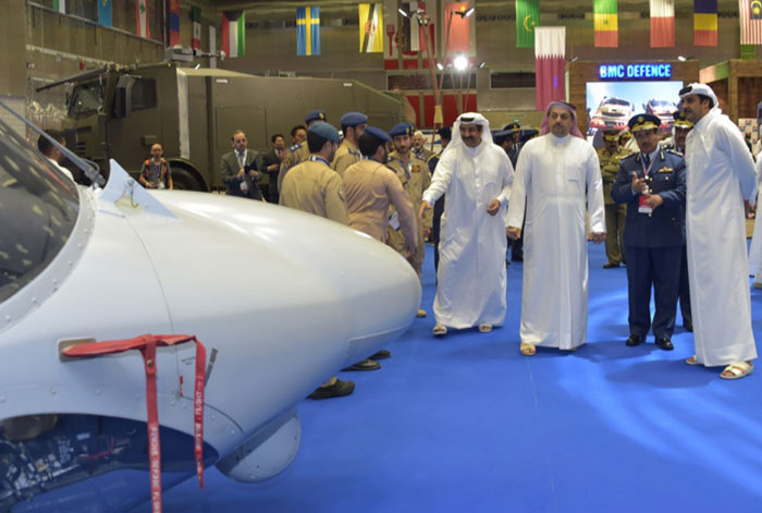 Qatar's Minister of Defense Hails Drone Project with Germany