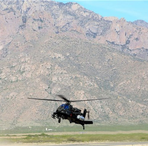 First Helicopter-Based Firing of High Energy Laser System