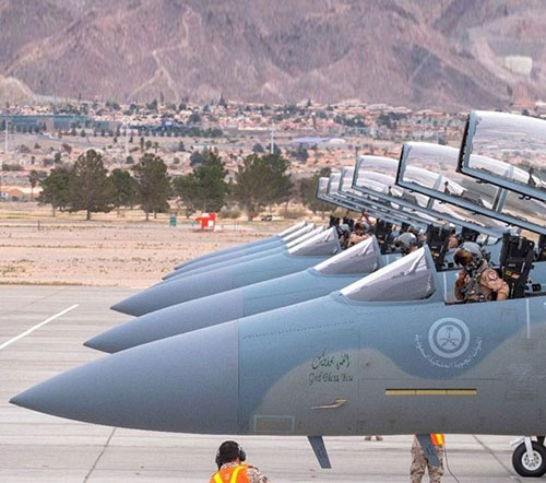 Red Flag 2019 Begins with Saudi Air Force Participation