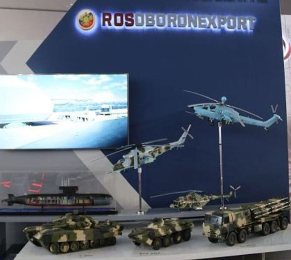 Rosoboronexport's Order Book Exceeds $50 Billion