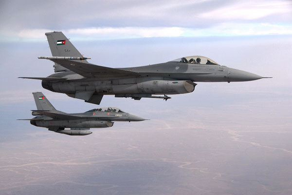 Royal Jordanian Air Force to Amend F-16 Engine Modules