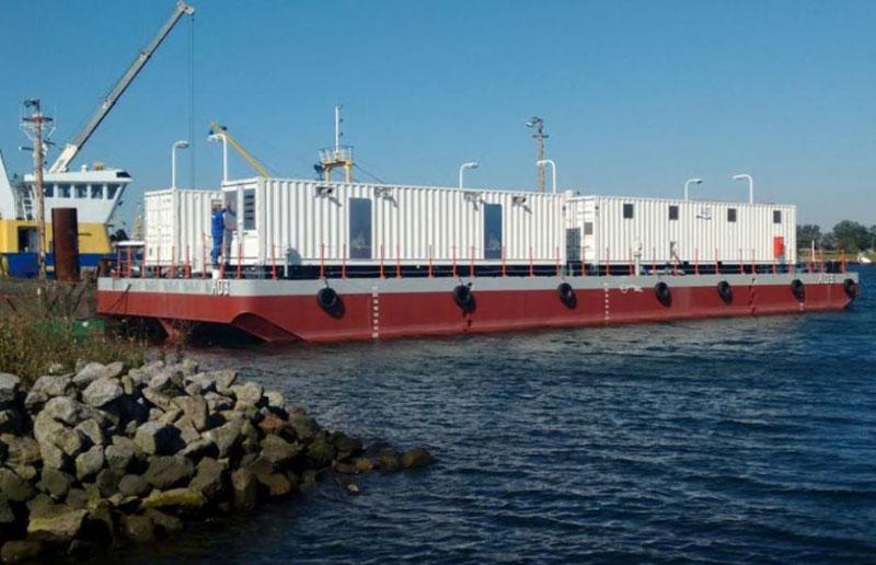 Royal Moroccan Navy Receives Damen Water Barge