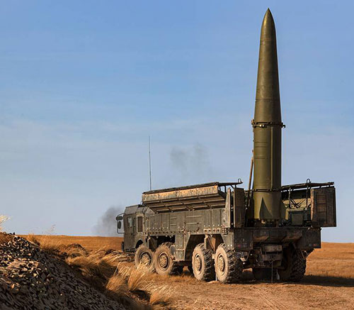 Russia Developing Future System to Replace Iskander-M Tactical Missile