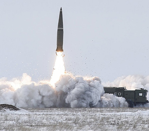 Russia Test Launches Iskander-M Missile