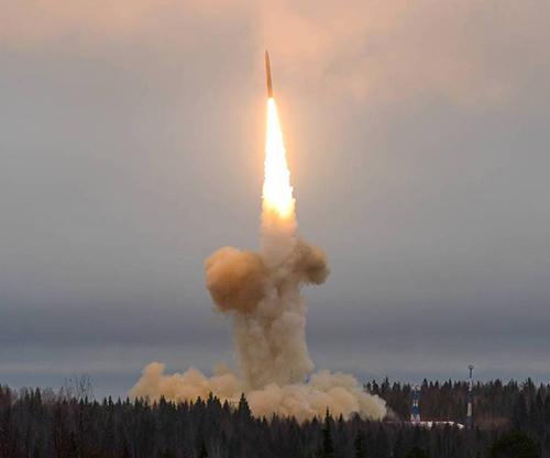 Russia Test-Fires Topol-M ICBM Against Target
